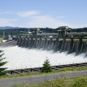 Hydroelectric value of water level