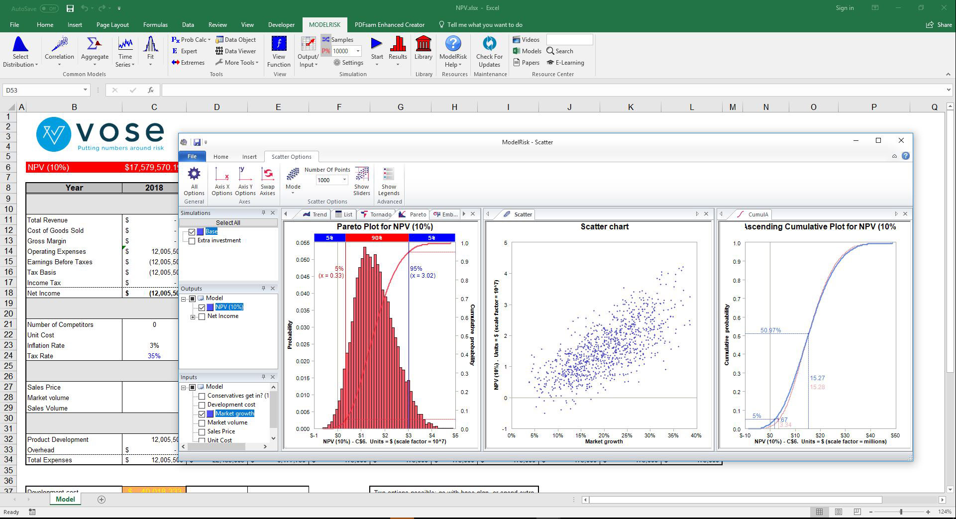 Modelrisk Features Vose Software