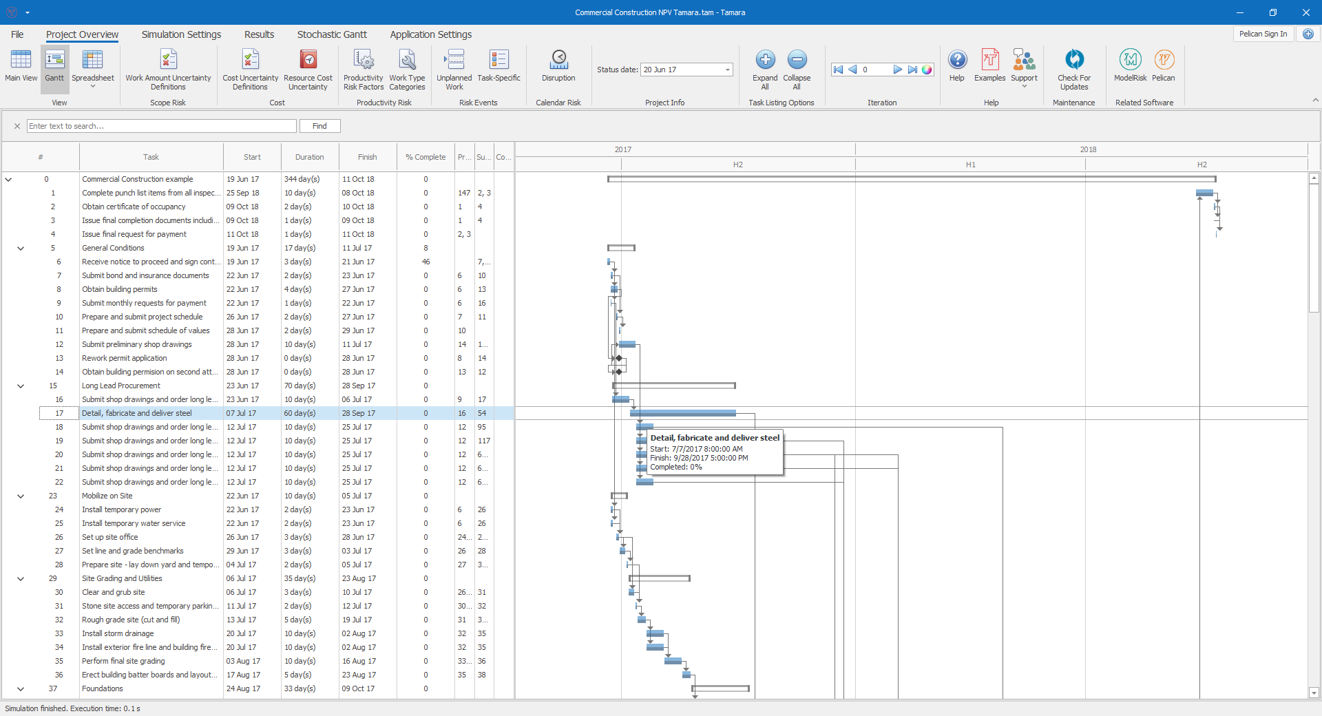 Project Risk Analysis Software for Primavera and MS Project