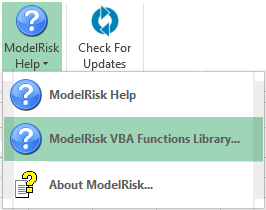 Custom applications and macros | Vose Software